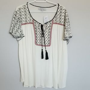 Tempted Hearts - Flowy Top